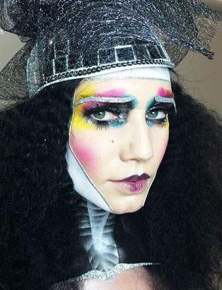 Czech Mate - Global Makeup Co-op Grad Eva Svobodova Plays a Winning Makeup Game