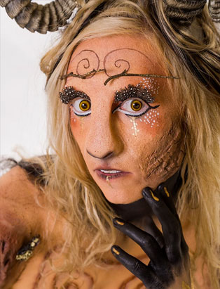 top makeup school graduate eva svobodova pan character makeup