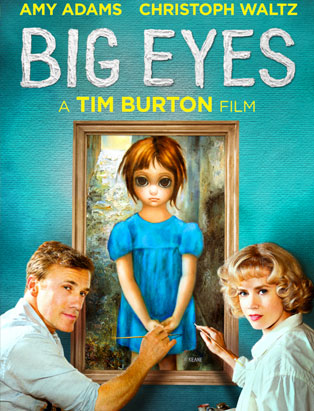 big eyes tim burton movie poster
