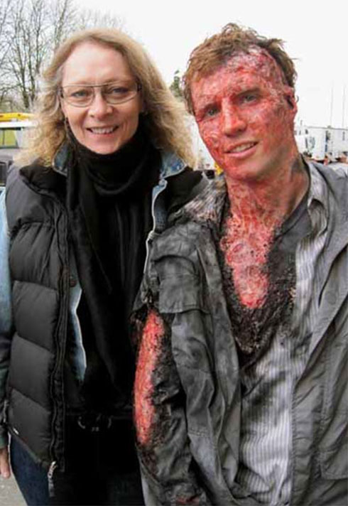 rachel griffin special fx burn victim