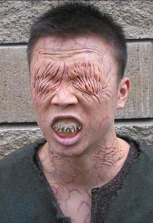 rachel griffin special fx eyeless transformation