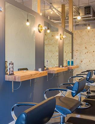 eliza trendiak salon owner row of chairs