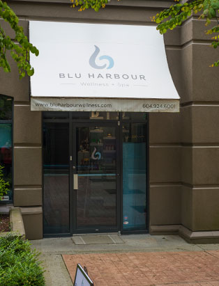 tracy cherniak top spa school graduate blu harbour wellness exterior