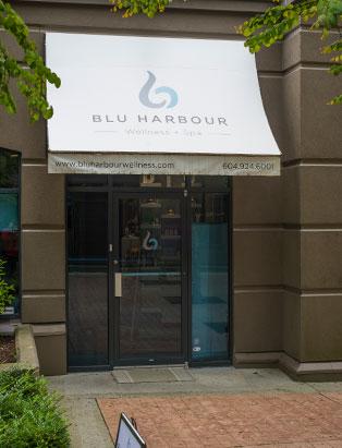 tracy cherniak top spa school graduate blu harbour wellness exterior