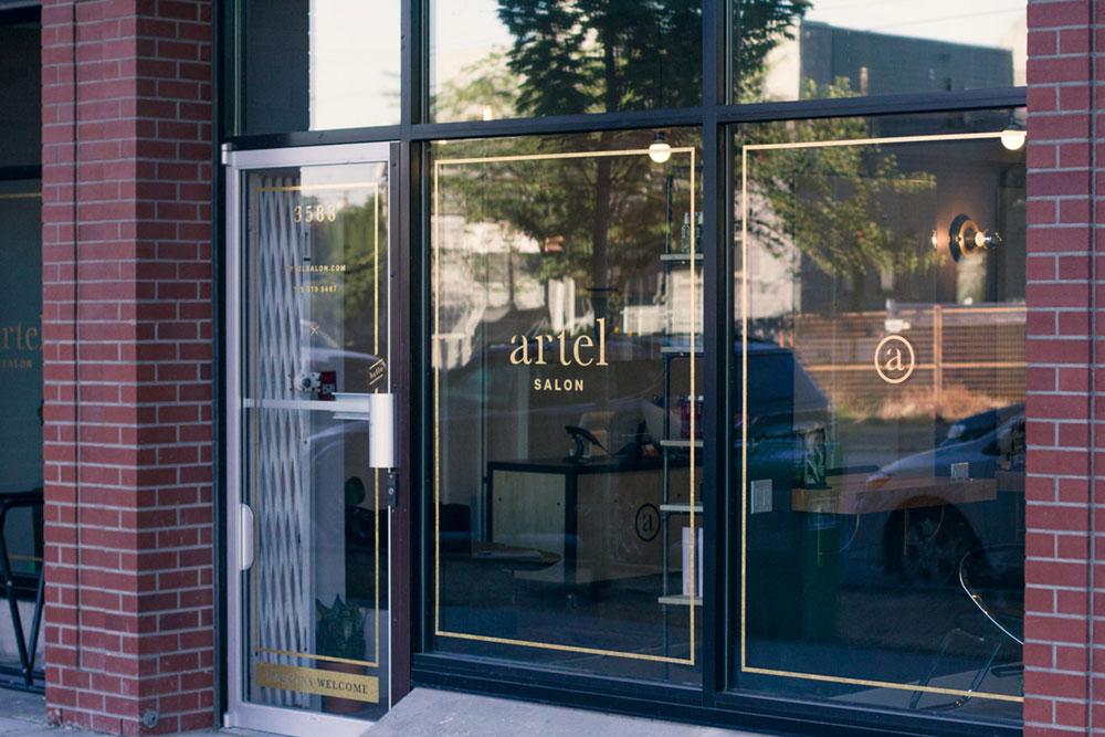 eliza trendiak salon owner artel exterior