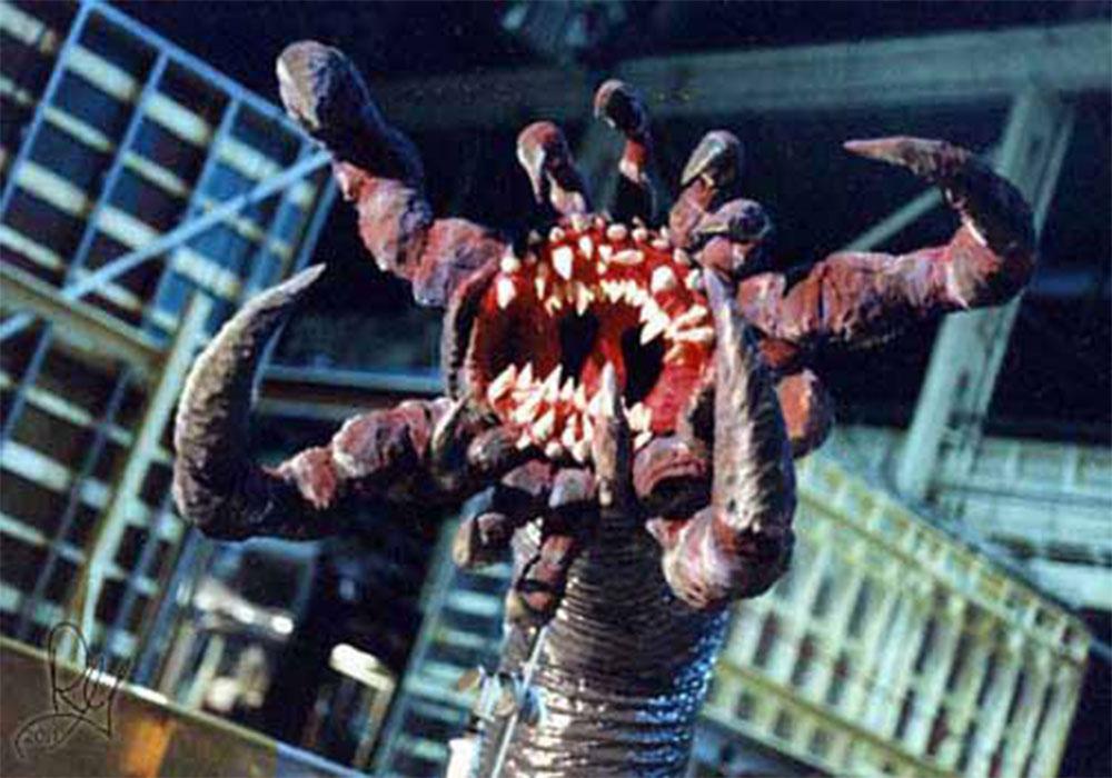 rachel griffin special fx space monster