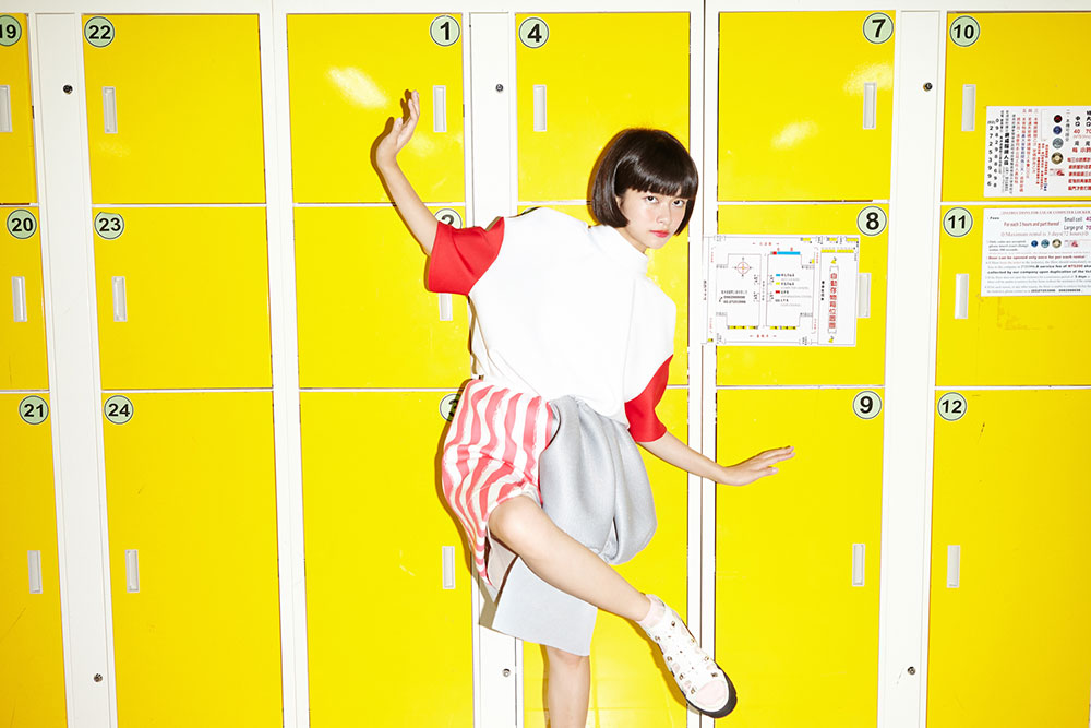 top fashion design graduate alex s yu yellow kawaii locker