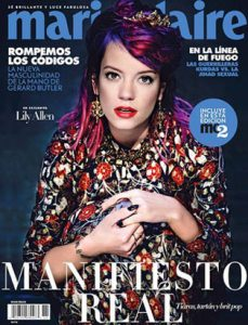 lily allen marie claire cover