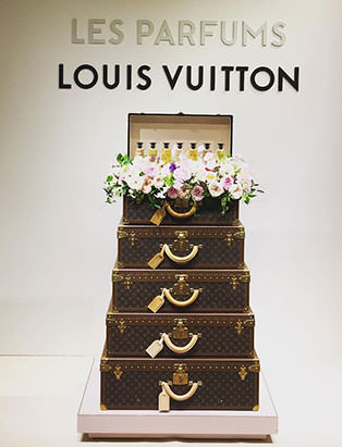 top fashion graduate brian chang visual merchandising louis vuitton perfume