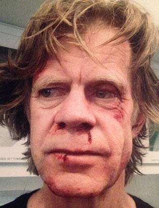 makeup for actor william macy by pepper gallegos