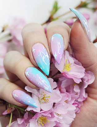 It's No Myth: Insta-Famous Nail Artist Little Mythy Creates Legendary Nail Looks