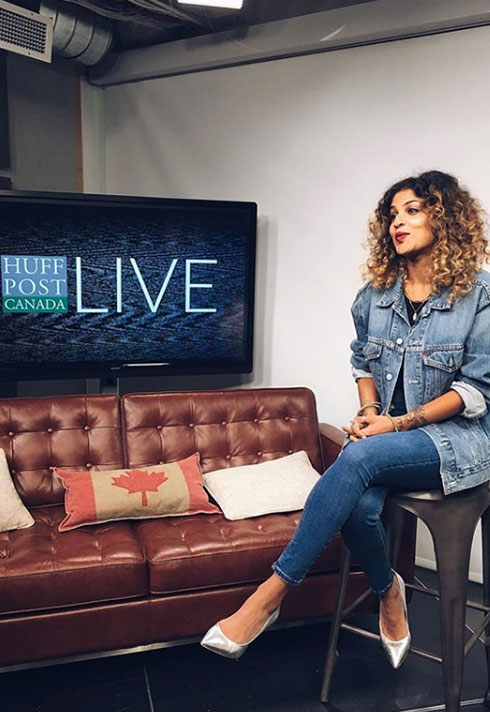 talya lee huffington post live interview