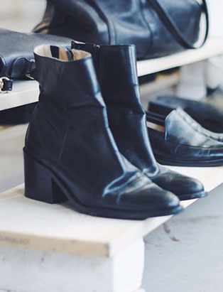 hey jude black boots
