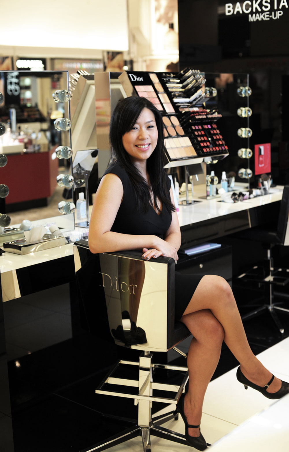 maggie chung dior account executive british columbia