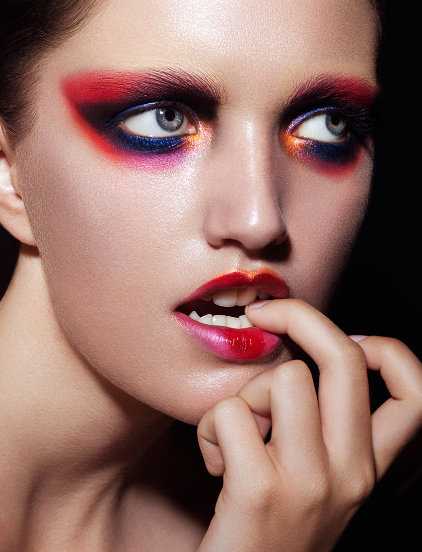 Makeup by Kiki Xiang, Blanche Macdonald Graduate and Instructor.
