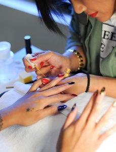 steph berry haus of lacquer manicure