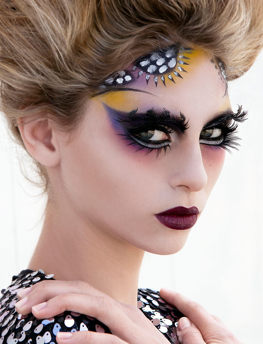 Makeup by Timothy Hung, Blanche Macdonald Graduate and Instructor.