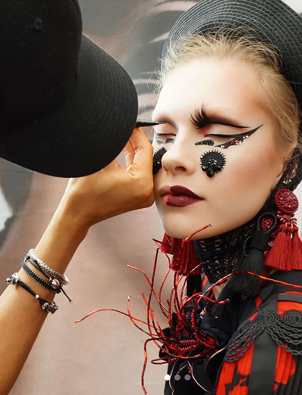 Makeup by Timothy Hung, Blanche Macdonald Graduate.