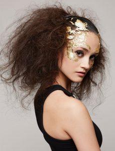 victoria jazic top hair graduate gold leafing