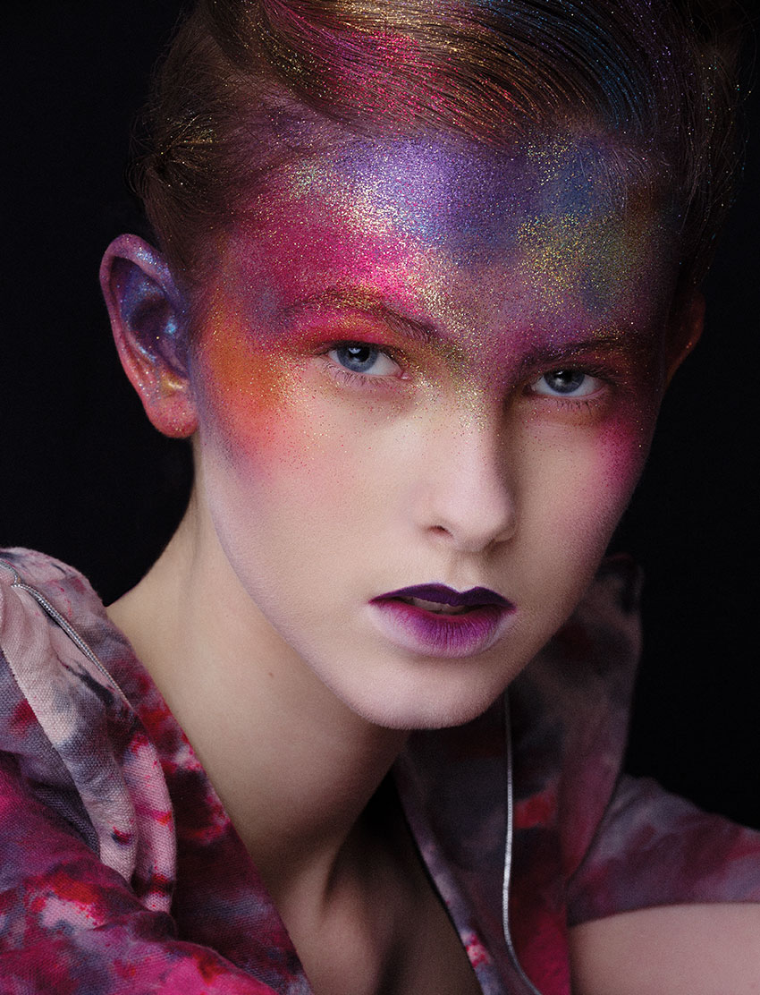 Makeup by Win Liu, Blanche Macdonald Graduate and Instructor.