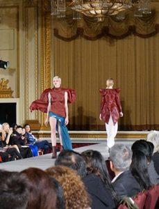 top fashion design graduate kirsten ley runway