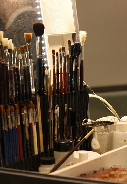 rebeccah delchambre top makeup artist brushes