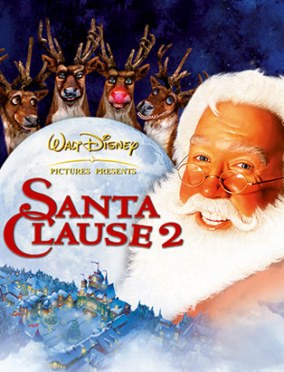 santa clause 2 movie poster