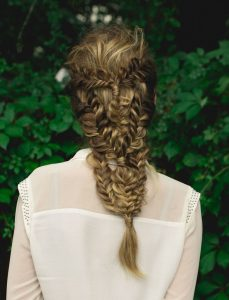 braided hairstyle by eliza trendiak