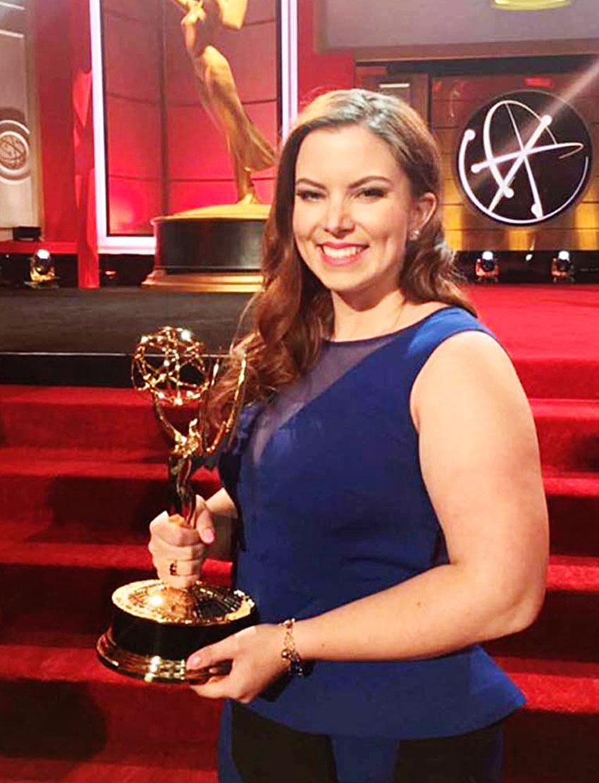 Emmy Award winning Makeup Graduate, Jenna Servatius.