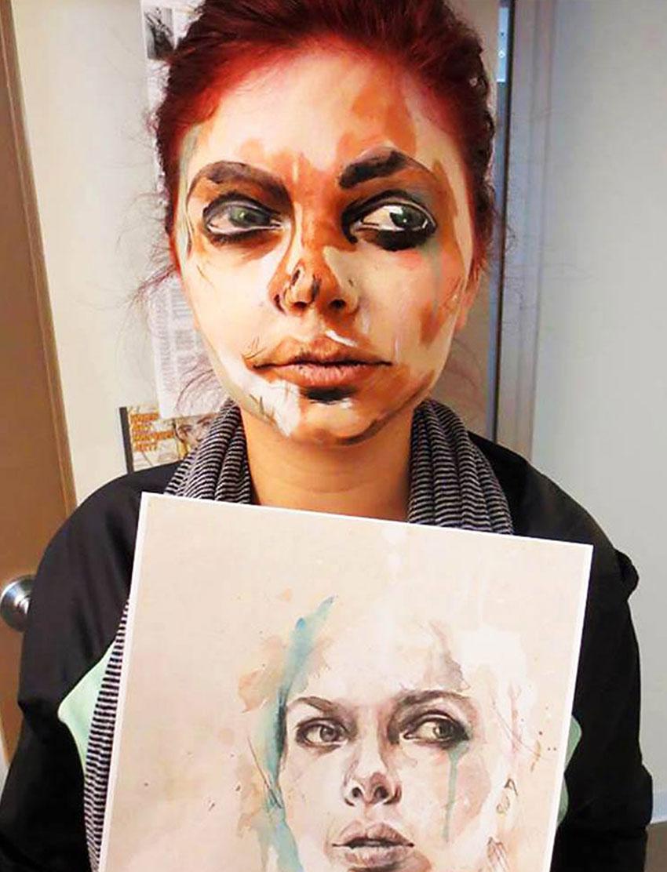 Makeup by Tanya Tesselaar, Blanche Macdonald Graduate.