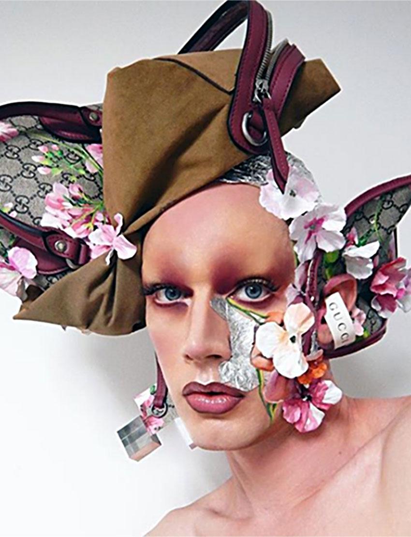 Makeup by Lyle Reimer, Blanche Macdonald Graduate.