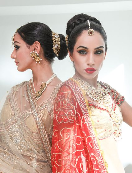 Makeup by Farah Hasan, Blanche Macdonald Graduate and Instructor.