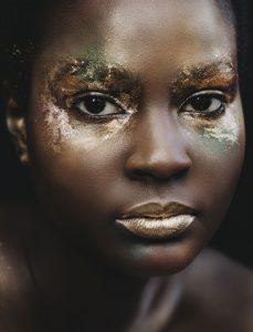 golden makeup by top graduate win liu