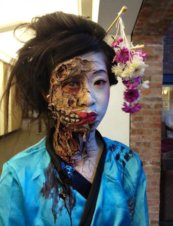Makeup by Jericka Los, Blanche Macdonald Graduate.
