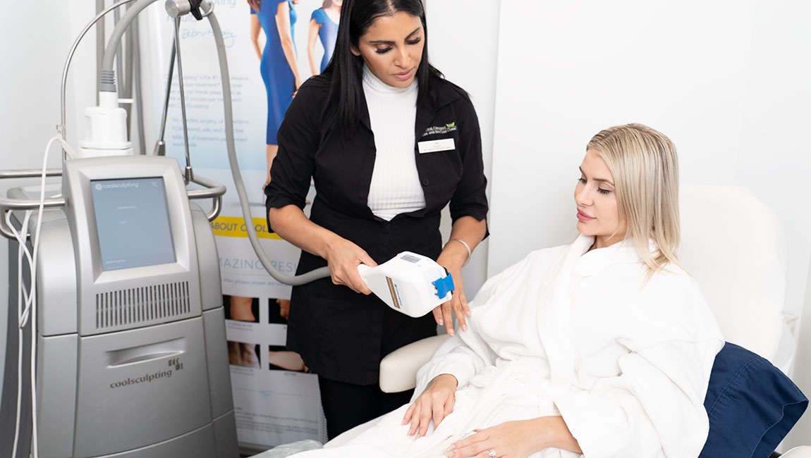Blanche esthetics program graduate working at Beautiful Canadian Laser and Skincare Clinic