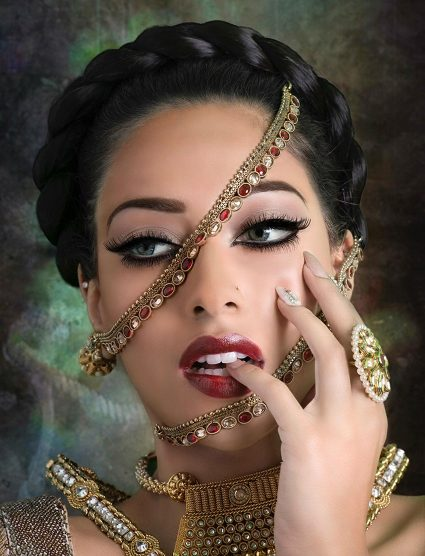 Makeup by Farah Hasan, Blanche Macdonald Graduate.