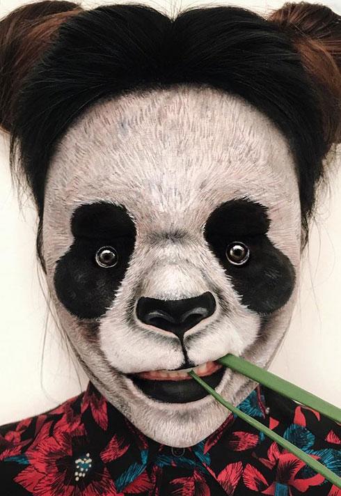 top makeup graduate mimi choi mimles panda face