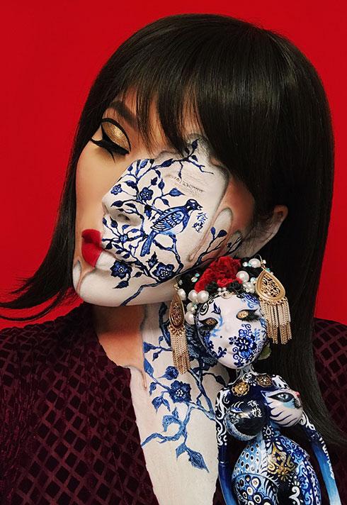 top makeup graduate mimi choi mimles porcelain doll
