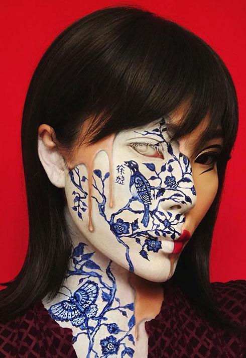top makeup graduate mimi choi mimles porcelain pattern