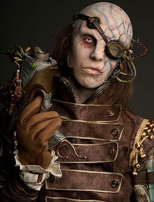 Makeup Graduate Daniel Takahashi wins second place in Battle of the Brushes Competition at IMATS LA