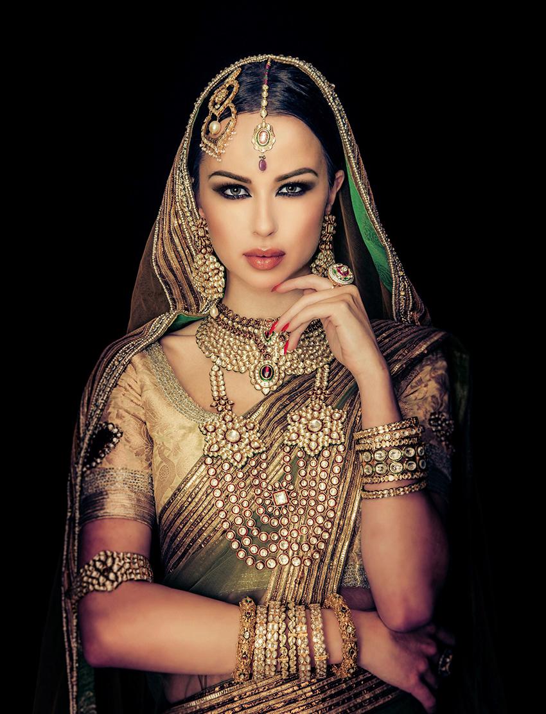 Makeup by Farah Hasan, Blanche Macdonald Graduate and Instructor.