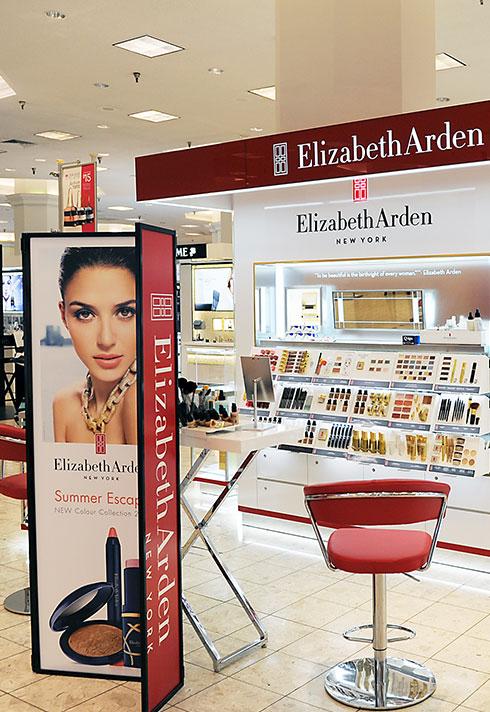 elizabeth arden makeup retail store