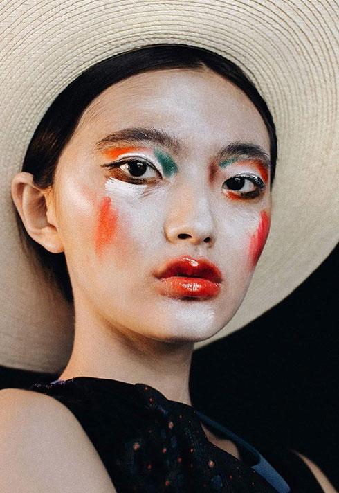 makeup graduate kelseyanna fitzpatrick painterly makeup