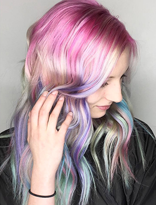 erin murphy juju salon pastel mermaid hair