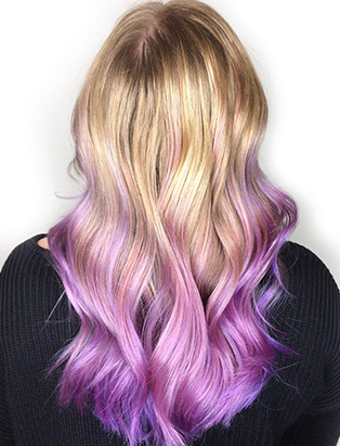 erin murphy pt hair pink dip dye