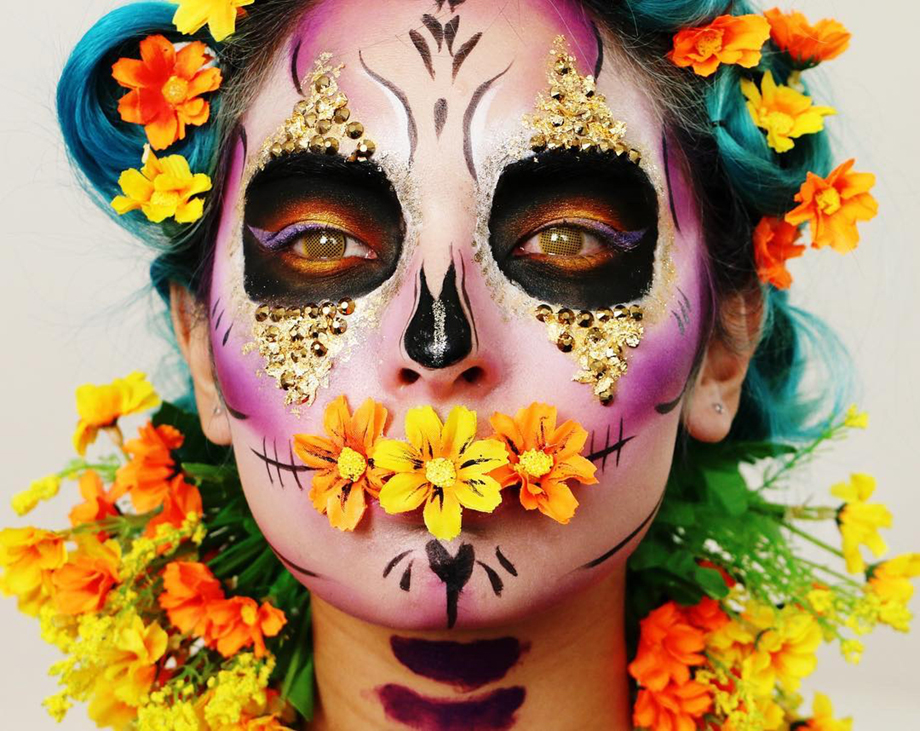 makeup graduate laura sanchez day of the dead makeup
