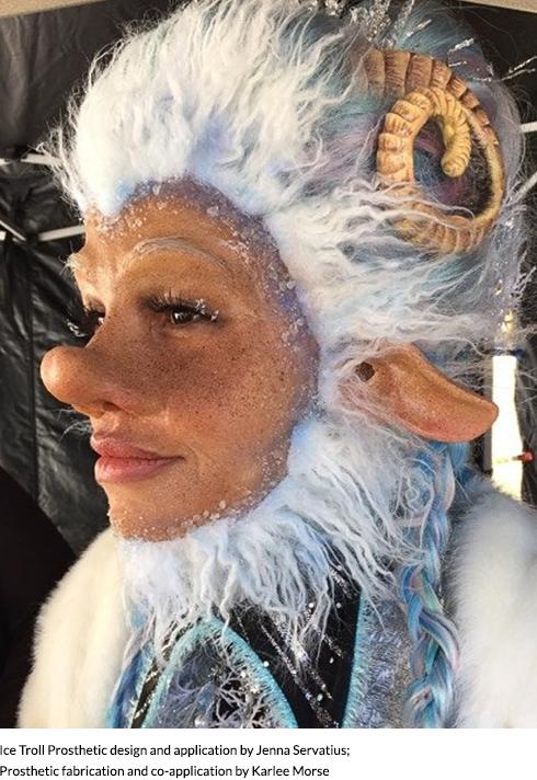daytime emmy award winning makeup artist jenna servatius troll makeup