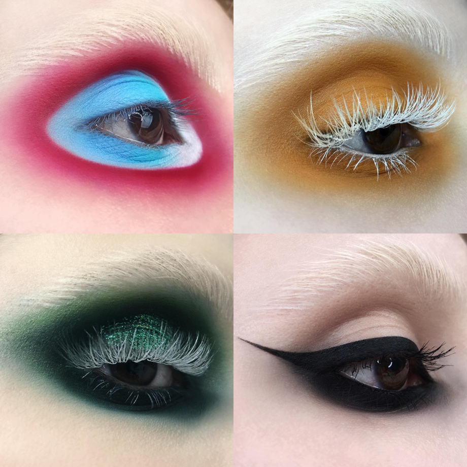 kelseyanna fitzgerald eye looks bmc grad makeup