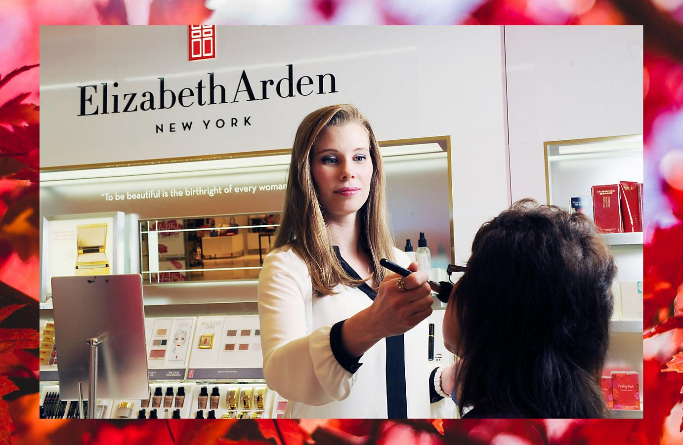 Esthetics Graduate Alisa Usher Makes Training Fun with Elizabeth Arden