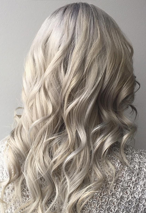 top hair graduate fallon nygaard icy blonde